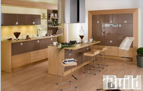 mẫu nhà bếp đẹp, Pháp