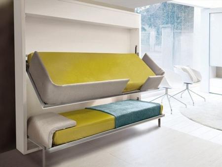 giường ngủ, thiết kế nội thất, tiết kiệm diện tích, tiết kiệm không gian