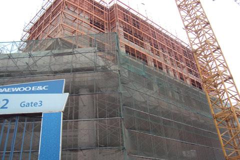 dự án, tiến độ, Daewoo Cleve, Văn Phú, đô thị mới, Hà Nội Time Tower