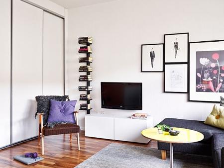 trang trí nội thất, nhà đẹp, nhà nhỏ, nhà 25m2