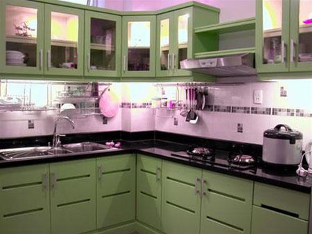 thiết kế phòng bếp, phong thủy nhà bếp, trang trí nội thất, nhà đẹp