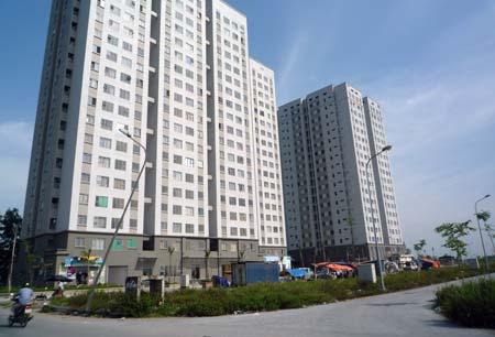 nhà thu nhập thấp, khu đô thị Kiến Hưng, Vinaconex Xuân Mai, xây dựng