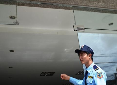 kính cường lực, Hoàng Anh Gia Lai, chung cư, ban quản lý, bảo vệ