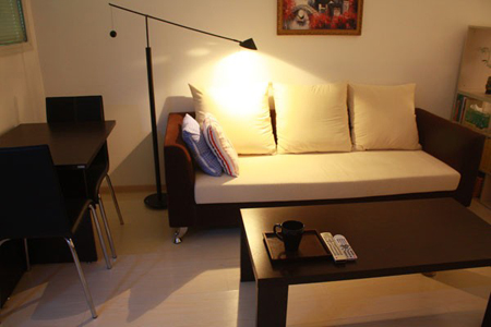 trang trí nhà, căn hộ nhỏ, không gian sống, nội thất, phòng ngủ
