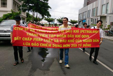 dự án 409 Lĩnh Nam, dự án chung cư, khu đô thị mới, scandal bất động sản, công ty Vĩnh Hưng