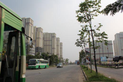 tiến độ dự án quận 7, cao ốc Phú Mỹ, cao ốc Hưng Phát, Phú Hoàng Anh, dự án Era Town, dự án Lacasa