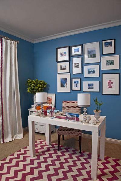 phòng làm việc, trang trí nhà, nhà đẹp, nội thất