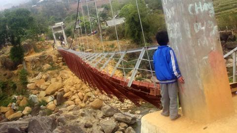 Bộ Xây dựng, sập cầu treo Chu Va 6, công trình giao thông, Lai Châu