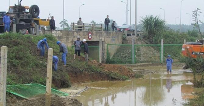 vỡ ống nước sông Đà, hệ thống nước sạch, Vinaconex, Bộ Xây dựng, Huds, hệ thống nước Mỹ Đình II