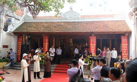 văn hóa, phố cổ, Hà Nội, chầu văn, Đông Thành, Hoàn Kiếm, giá trị, Mã Mây, di sản, văn hóa, nghệ thuật, triển lãm
