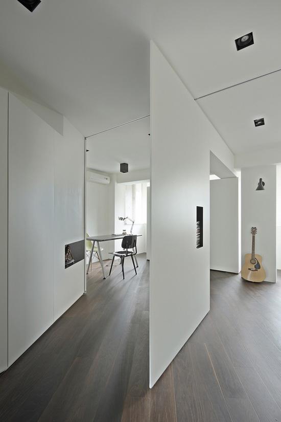 vách ngăn, không gian, thiết kế, thẩm mỹ, tiện ích