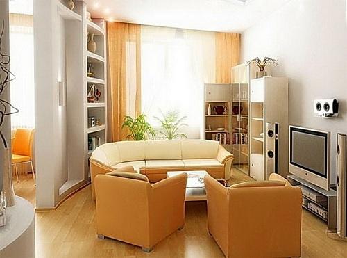 phong thủy, bài trí, căn hộ, sơn tường
