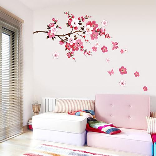 L t x c nh c v i gi y d n t ng m a xu n b o vietnamnet for Amazon decoracion pared