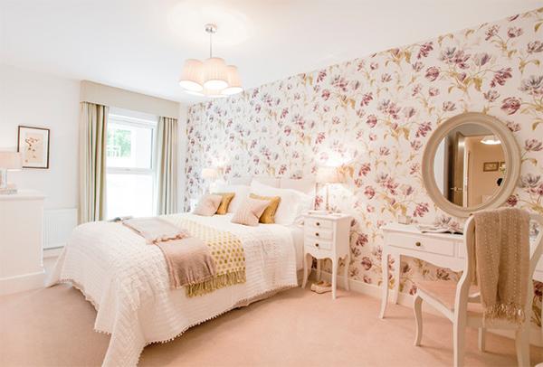 trang hoàng phòng ngủ, concept phòng ngủ, phòng ngủ màu sắc, nội thất hoa, cấu trúc nhà