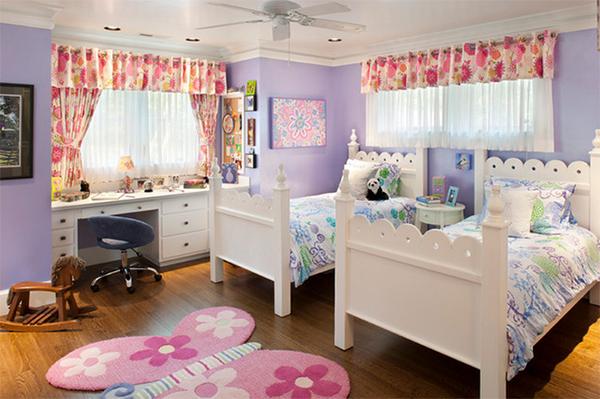 trang hoàng phòng ngủ, thiết kế phòng ngủ, phòng ngủ sắc màu, nội thất hoa, qui hoạch nhà