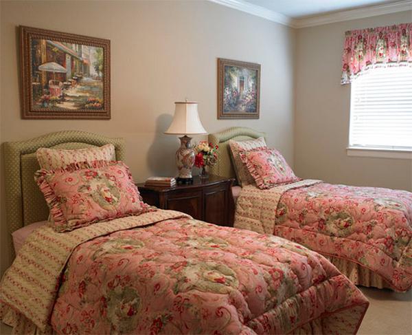 trang trí phòng ngủ, concept phòng ngủ, phòng ngủ sắc màu, nội thất hoa, market nhà