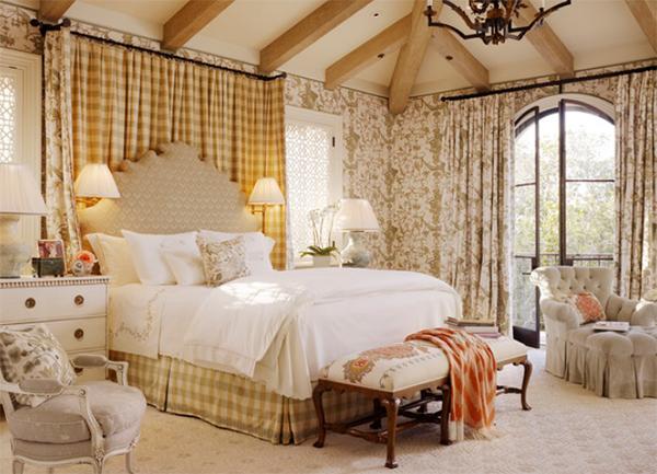 trang hoàng phòng ngủ, cấu trúc phòng ngủ, phòng ngủ màu sắc, nội thất hoa, kiểu dáng nhà