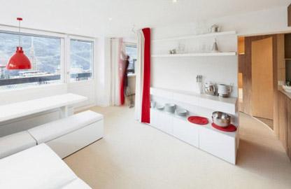 Căn hộ 55m² có đến 8 chốn ngủ riêng tư cực chất cho đại gia đình