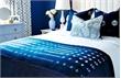Phòng ngủ xanh dương đầy cuốn hút