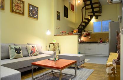 Ngôi nhà 30m² siêu lãng mạn của đôi vợ chồng trẻ ở trung tâm Hà Nội