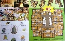 Câu khách bằng chiêu bán nhà 45 triệu một căn ở Hà Nội