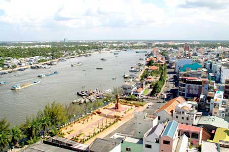 Mekong River, Viet Nam River Network, river's water level