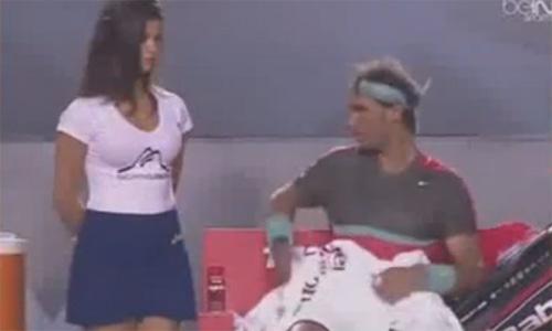 Rafael Nadal bị ghi hình nhìn lén *** thiếu nữ