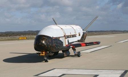 Máy bay tuyệt mật Mỹ trở về sau 2 năm trên quỹ đạo