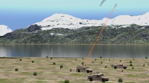 Mỹ hé lộ vũ khí tối tân chống máy bay không người lái