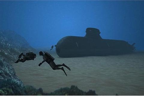 Thụy Điển đóng tàu ngầm ma siêu tàng hình cho hải quân