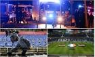 Clip: Cảnh sát sơ tán CĐV ra khỏi sân HDI Arena