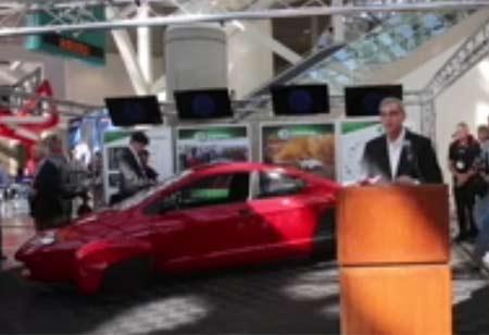 Xe P5 siêu tiết kiệm nhiên liệu 0,9 lít/100 km