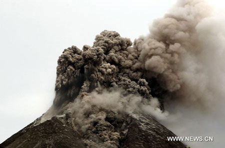 Indonesia's volcano eruption kills 38, forces over 70,000 flee homes