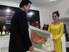 Vietnamese paintings favored in Singapore