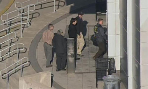 Packages explode at U.S. state government buildings