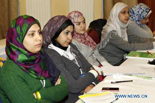 Training session for Egyptian Chinese language teachers launched in Cairo