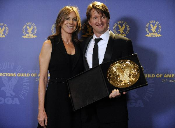 "Tom Hooper lands DGA top honor for ""The King's Speech"""