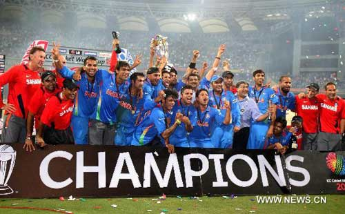 With 2011 ICC World Cup title, India creates history