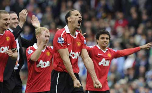 Manchester United win 19th English title