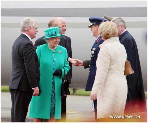 British queen begins historic visit to Ireland