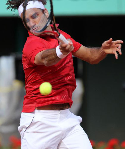 Federer sets up semi showdown against Djokovic at French Open