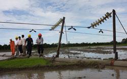 Nine days to restore power in North
