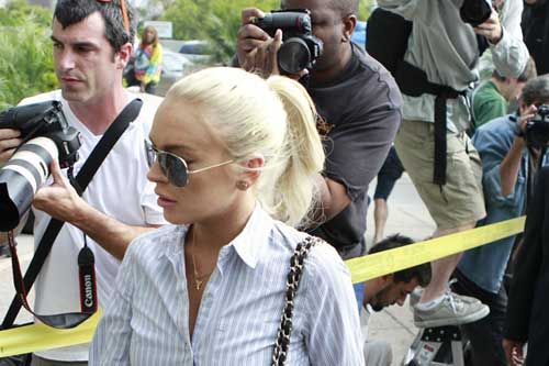 Lindsay Lohan free from house arrest after 35 days