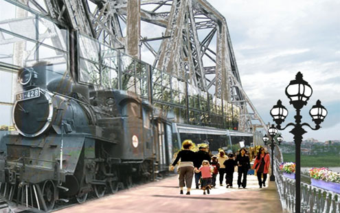 Hanoi's 100-year-old bridge may become a museum