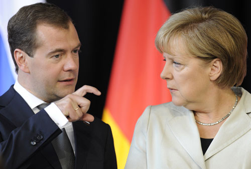 Germany, Russia seek to boost all-round ties