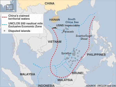 South China Sea disputes: China, other claimants and the US