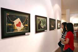 Students depict life in Ha Noi