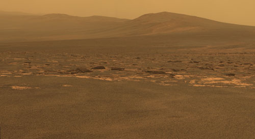 NASA's Mars rover arrives at new site on Martian surface
