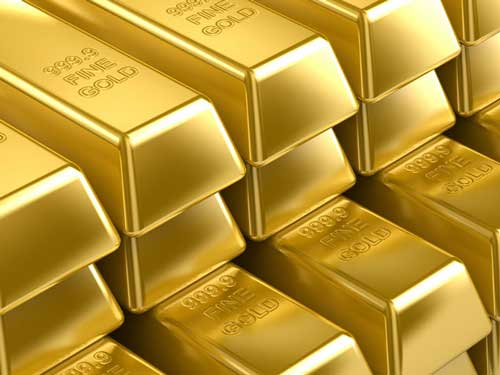Wall Street ends mixed, gold sets new record