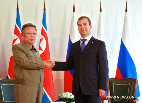 Russian, DPRK leaders agree on nuclear issues, gas cooperation